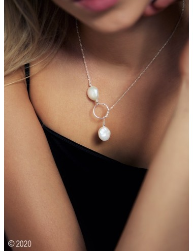 Sterling silver pearl...