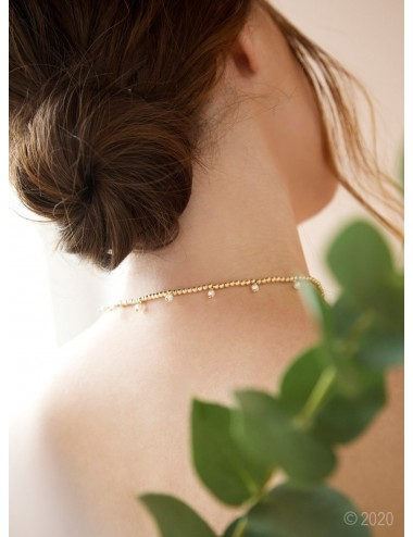 "Gold-filled choker ""Pendant"""